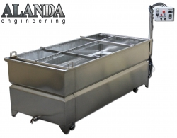 Wassertransferdruck-Tauchbecken 100 cm x 200 cm ALANDA Engineering