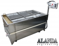 Wassertransferdruck-Tauchbecken 100 cm x 150 cm ALANDA Engineering