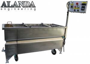 Wassertransferdruck-Tauchbecken 100 cm x 50 cm ALANDA Engineering